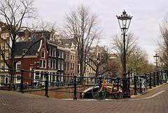 amsredam (lada.zhigulina) Tags: architecture atmosphere amsterdam netherlands holland beautiful film 35mm zenit bicecle travel trip