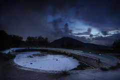 Tra Mafiosi e Pidusti (luc.feliziani) Tags: piscina abbandonata umbria p2 mafia montagna montalera trasimeno alberi cloud storm