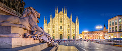 _MG_4157 - Milan panoramic (AlexDROP) Tags: 2018 italy europe lombardy milano milan art travel architecture cathedral color cityscape longexposure canon6d ef16354lis wideangle best iconic famous mustsee picturesque postcard panoramic