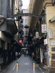 Flinders Lane in Melbourne, Australia (Craigs Travels) Tags: flinderslane ln melbourne australia pedestrian street cbd restaurants cafes laneways thoroughfare arcade