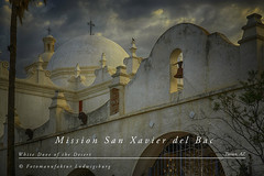 Mission San Xavier del Bac (Fotomanufaktur.lb) Tags: arizona tucson usa mission schölkopf schoelkopf canon eos6d church kirche wüste desert catholic landmark white weis taube dove