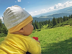 (marozn) Tags: active adventure baby babycarrier backpack backpacker bag beautiful boy camping carpathian carpathians child childhood family forest funny happy hiking leisure little love man maternity mountain mountains back view backview newborn outdoors panorama parent parents people playing rest smile smiling summer travel ukraine walk walking relax landscape sit son