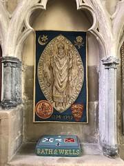Bishop's Palace (gary8345) Tags: 2018 uk unitedkingdom greatbritain britain england somerset wells bishopspalace snapseed
