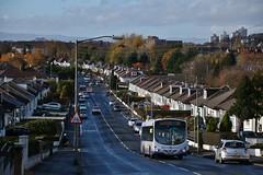 First Glasgow SN53 KHM (65697) | Route 34 | Menock Rd, Glasgow (Strathclyder) Tags: first glasgow firstglasgow scania l94ub wright eclipse solar sn53 khm sn53khm 65697 menock road kingspark scotland olympialivery caledonia firstscotlandeast firstmidlandbluebird firstborders