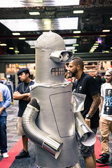 futurama (timp37) Tags: futurama wizard world comic con august 2018 chicago illinois cosplayer rosemont bender