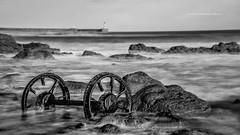Seaham Wheels (Squareburn) Tags: seaham seahamwheels northeast coast northeastcoast mono longexposure seascape