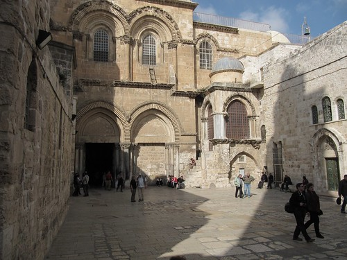 Church of the Holy Sepulchre, Jerusalem.
