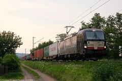 MRCE/BoxXpress 193 852 am 23.05.2018 mit einem Containerzug in Unterhaun (Eisenbahner101) Tags:
