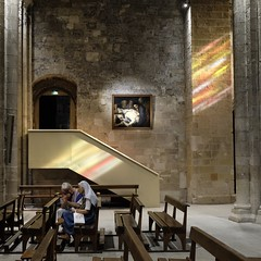 Lux Aeterna, Abbey of St Victor, Marseille (Lux Aeterna - Eternal Light) Tags: religious church