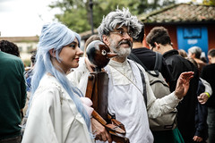 Lucca Comics 2018 (Valentina Ceccatelli) Tags: lucca luccacomics cosplay cosplayer game thrones gameofthrones italy tuscany art costume player manga anime tvshow valentina ceccatelli 2018 vikings funny fun happy portrait portraits japan town japantown movie movies armor