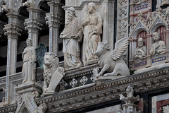Facade detail. Siena Duomo. Italy. IMG_3999 (mxpa) Tags: siena facade architecture europe church cathedral travel