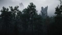 Horizon Zero Dawn (Matze H.) Tags: horizon zero dawn forrest trees ruins tower skyscraper city apocalypse clouds fog dust playstation 4 pro uhd hdr 4k wallpaper screenshot ingame graphic