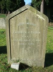 Frederick J. Palmer (Living in Dorset) Tags: aldershotmilitarycemetery aldershot hampshire england uk gb grave headstone servicegrave 1930 frederickjpalmer rasc royalarmyservicecorps