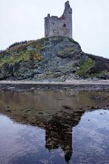 Greenan Reflection (James Anley) Tags: landscape greenan castle ruin reflection water coast ayrshire ayr scotland