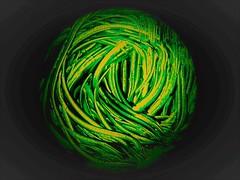 Circle (Hannelore_B) Tags: abstract kreis circle macro green macromondays