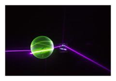 Fluorescence and Refraction // #light #laser #Fluorescence #ultraviolet #violet #crystal #glow #purple #green (SimonTHGolfer) Tags: glow light crystal fluorescence laser violet purple green ultraviolet
