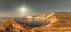 Worbarrow Bay Panorama (Coolcats100) Tags: panoramic water coolcats100 canon 70d landscape worbarrow worbarrowbay october 2018 sea cliffs purbecks dorset sigma