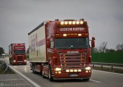 Kiefer (D) (Brayoo) Tags: friendly friendlydriver scania germany transport truck lkw lorry customized