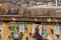 Elmina market still life (10b travelling / Carsten ten Brink) Tags: 10btravelling 2017 africa african afrika afrique carstentenbrink elmina genericplaces ghana ghanaian goldcoast gulfofguinea iptcbasic oldtown otherkeywords places westafrica basket coast fishmarket harbour market shore tenbrink