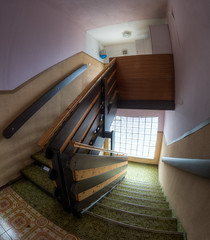 Stairs (WolfiNim) Tags: lostplace lost urbex urbanexploration urbanexploring decay marode wolfinim nikon dark d90 abandoned austria old ue forgotten forsaken places uewolfinim exploring exploration stairs windows fenster hotel