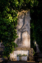 visiting with angels (Sam Scholes) Tags: stone mirogojcemetery graves zagreb travel landmark carving croatia graveyard vacation europe cemetery angel cityofzagreb hr