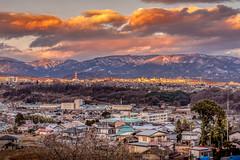 sunset in Numata (kellypettit) Tags: japan gunma numata sunset city citylandscape life people lights colour