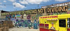Walls Are For Painting Not Dividing (wiredforlego) Tags: graffiti mural streetart urbanart aerosolart publicart bushwick brooklyn newyork nyc 3amin