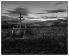 Village Cross, Clomot (Wilco1954) Tags: burgundy villagecross mono france bourgogne clomot