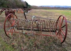 The Stamford Horse Rake (Snapshooter46) Tags: horserake agriculturalmachinery farming blackstoneandcompany stamford