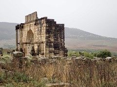 Triumphal Arch of Volubilis (davidparratt) Tags: volubilis triumphalarch morocco