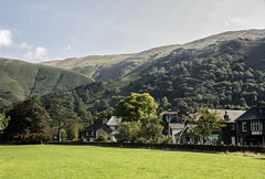 Grasmere Village (martin-holden-images) Tags: adventure cumbria cycling england grasmere grass hiking hills lakedistrict lakes mountains north northwest outdoor running walking waterfall