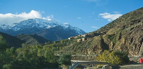 precarious - Road of the Kasbahs, Morocco - Nov 2018