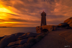 La costa rosa (Fernando Guerra Velasco) Tags: breizh bretaña costarosa longexpo ploumanac´h sunset atardecer coucherdesoleil