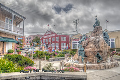Cannery Row (Michael F. Nyiri) Tags: montereyca canneryrow statue monument sky northerncalifornia