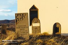 Möðrudalur church cemetery - Iceland (Naomi Rahim (thanks for 4 million visits)) Tags: möðrudalur iceland scandinavia europe 2018 travel travelphotography church architecture rural norðurmúlasýsla nikon nikond7200 wanderlust cemetery graveyard windows