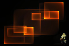 A Rubic Cubic Christmas (Alfred Grupstra) Tags: illustration backgrounds abstract shiny blackcolor glowing vector design symbol lightnaturalphenomenon shape technology dark modern elegance computergraphic
