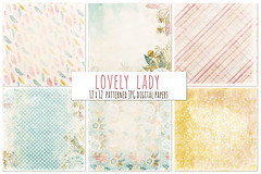 Lovely Lady Digital Paper - Shabby Chic (Carrie Stephens) Tags: clipart graphics illustrations digitalscrapbooking digitaldownload digitalpaper backgroundpapers backgroundimages backgrounds textures texturedcardstock digitalcardstock 12x12 printablepaper paperpack scrapbooking scrapbookpaper craftsupplies creativemarket photoshop photobook design graphicdesign digitalsupplies lovelylady pink delicate pretty floral floralpattern flowers grandma mom mothers day commercialuse