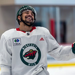 J.T. Brown at Minnesota Wild open practice at Tria Rink in St Paul, MN thumbnail