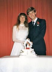284_PaulLinda1987 (wrightfamilyarchive) Tags: paul linda wright wedding beckenham 21 march 1987 1980s 80s eighties