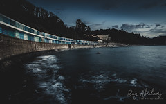 Meadfoot Moods (RTA Photography) Tags: meadfootbeach sea water coast huts torquay devon sky clouds longexposure blue rtaphotography nikond750 d750 nikkor1835 outdoors nature seascape