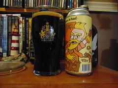 BreWskey P-Nut Buster (Mr BreWskey) (Quevillon) Tags: beer bière glass ratebeer can brewskeypnutbuster pubbrewskey lacompagniedebièrebrisset stout