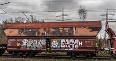 25_2019_01_16_Gelsenkirchen_Bismarck_6185_025_DB_mit_gem_Güterzug ➡️ Bottrop_Süd (ruhrpott.sprinter) Tags: ruhrpott sprinter deutschland germany allmangne nrw ruhrgebiet gelsenkirchen lokomotive locomotives eisenbahn railroad rail zug train reisezug passenger güter cargo freight fret bismarck bottropsüd ctd captrain db hctor hhpi 0632 1266 1232 1261 6152 6185 6187 6241 class66 vtgch rb42 hochspannungsmast kraftwerk herne dorsten dortmund logo natur outdoor graffiti