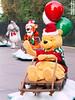 Pooh, Tigger, and Eeyore (trekkiebeth) Tags: disneyland disney parade christmasfantasyparade poohbear winniethepooh tigger eeyore balloons