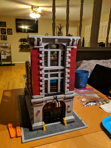 Ghostbusters' Firehouse Lego - Bags 8-14