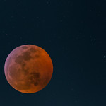 Eclipsed moon in the starfield thumbnail