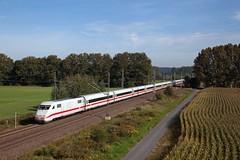 DB ICE treinstel - ICE 791 Kiel Hbf - Leipzig Hbf  - Trebbin (Rene_Potsdam) Tags: trebbin brandenburg ice br401 railroad deutschland treinen trains züge trenes europe europa deutschebahn