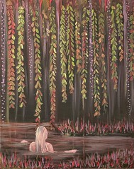 nature bather (Opal in the rough) Tags: art acrylic painting