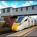 new Class 800 in grey and yellow