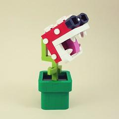 Piranherd Plant (cmaddison) Tags: lego nerdvember piranhaplant mario nintendo videogame toy