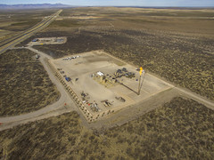 DJI_0475 (imjeffp) Tags: naturalgas aerial fracking oil texas flare flaring
